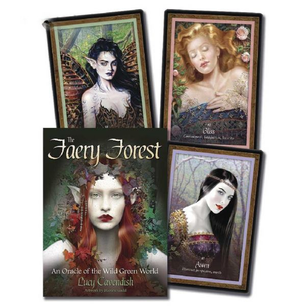 Faery Forest Tarot Oracle Card Deck by Lucy Cavendish
